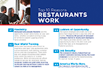 Why restaurants work